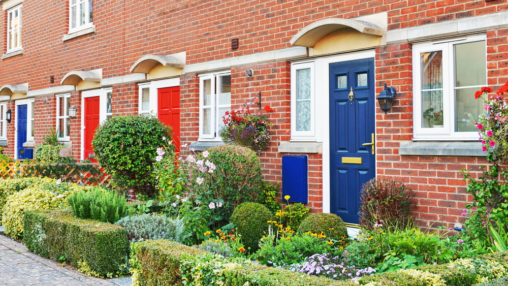 vorgarten beim reihenhaus die sch nsten gestaltungsideen. Black Bedroom Furniture Sets. Home Design Ideas